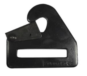 Clip-In End Hardware for Restraints