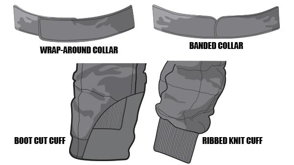Custom Suit Collars & Cuffs