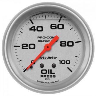 """2-5/8"""" OIL PRESSURE"""