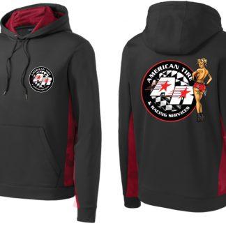 ATRS Black & Red Hoodie